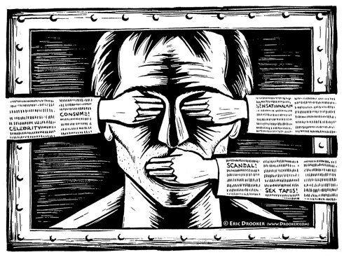 مهاجرت و سانسور