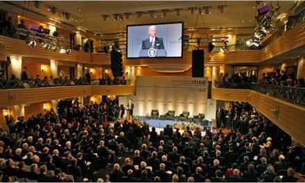 صدای شیپور تهدید و جنگ علیه صلح جهانی از نشست مونیخ