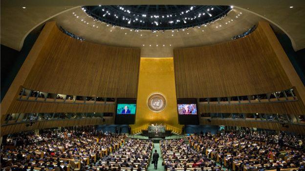 """نشست مجمع عمومی سازمان ملل متحد """"هیاهو برای هیچ"""""""