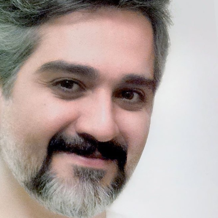 آثار گرافیکی مشاهیر ایران از محسن ولیحی