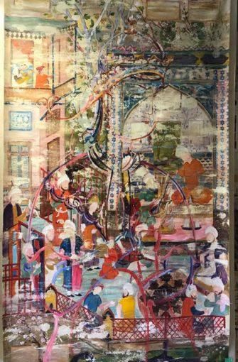 Sara-Mohammadi-Ardehali-10-335x510 برگزاری نمایشگاه «چهل تصوير متفاوت» اثر رضا دوست   هنرمند ایرانی ساکن کانادا در قطر