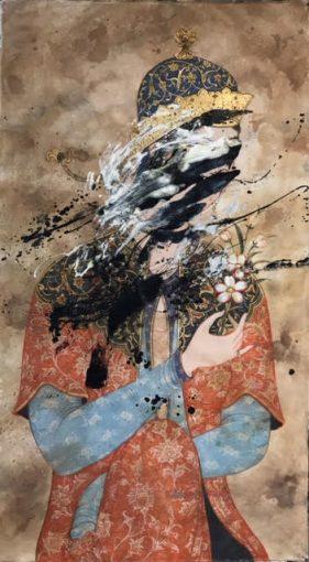 Sara-Mohammadi-Ardehali-3-281x510 برگزاری نمایشگاه «چهل تصوير متفاوت» اثر رضا دوست   هنرمند ایرانی ساکن کانادا در قطر