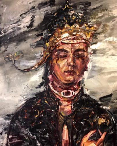 Sara-Mohammadi-Ardehali-6-408x510 برگزاری نمایشگاه «چهل تصوير متفاوت» اثر رضا دوست   هنرمند ایرانی ساکن کانادا در قطر