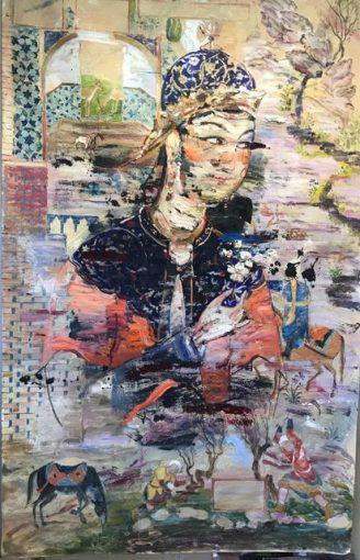 Sara-Mohammadi-Ardehali-9-328x510 برگزاری نمایشگاه «چهل تصوير متفاوت» اثر رضا دوست   هنرمند ایرانی ساکن کانادا در قطر