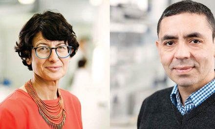 زوج آلمانی ترکتبار بهدلیل کشف واکسن کووید۱۹ لقب ناجیان زمین گرفتند