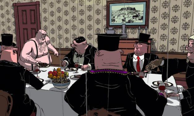 نقد و تحلیلی بر انیمیشن (شام اقلیت) ساخته اتناسیوس واکالی